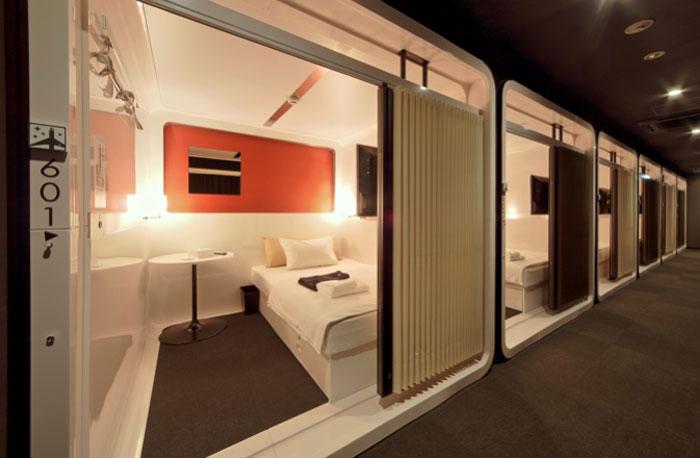 120cmのセミダブルサイズベッドを備えたファーストクラスキャビン