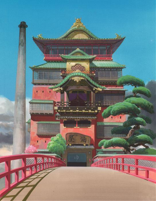 千と千尋の神隠し (c) 2001 Studio Ghibli・NDDTM
