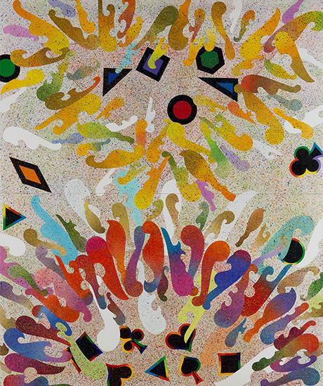 泉茂《鎮魂歌》1988年/『泉茂 ハンサムな絵のつくりかた』@和歌山県立近代美術館、1月27日より
