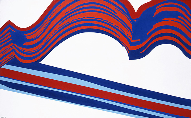 泉茂《Painting(FS2008)》1967年/『泉茂 ハンサムな絵のつくりかた』@和歌山県立近代美術館、1月27日より