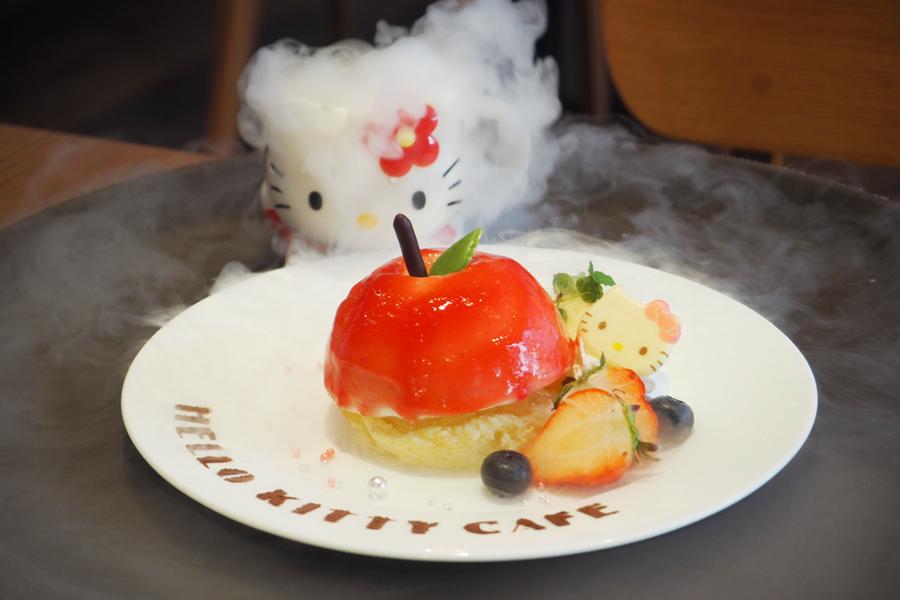 「ディアダニエルからのプレゼント ドキドキりんごムース」1382円