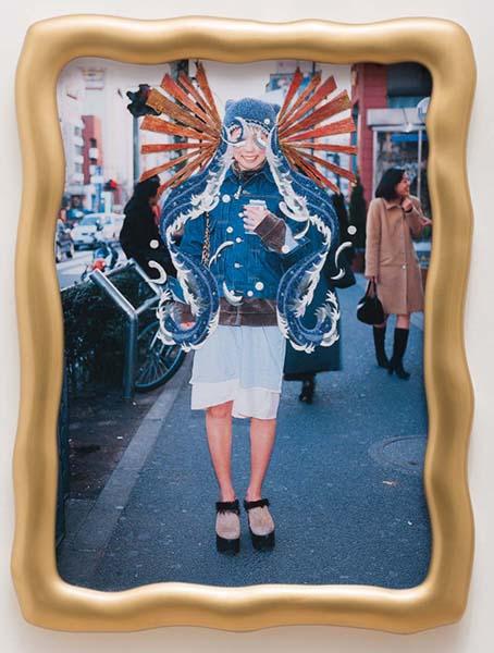 「TOKYOモンスター」《人生はチャンス Life is Chance》2015 ©asamikiyokawa/清川あさみ展@美術館「えき」KYOTO、1月21日より