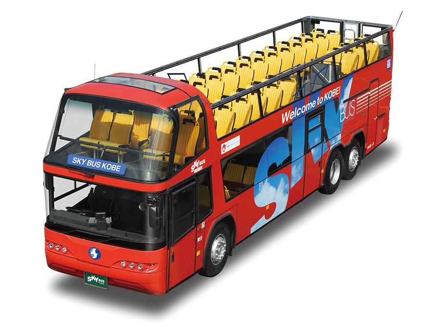 3月19日から運行スタートする神姫バス「スカイバス神戸」