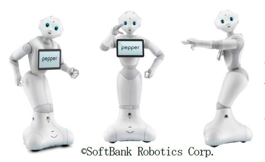 2014年の発表以来、さまざまな場所で見かけるようになったロボット・ペッパー