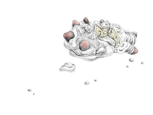 束芋《網の中》 2017年 ©Tabaimo / courtesy of IMO studio/『Kyoto Art for Tomorrowー京都府新鋭選抜展2017ー』@京都文化博物館、1月28日より