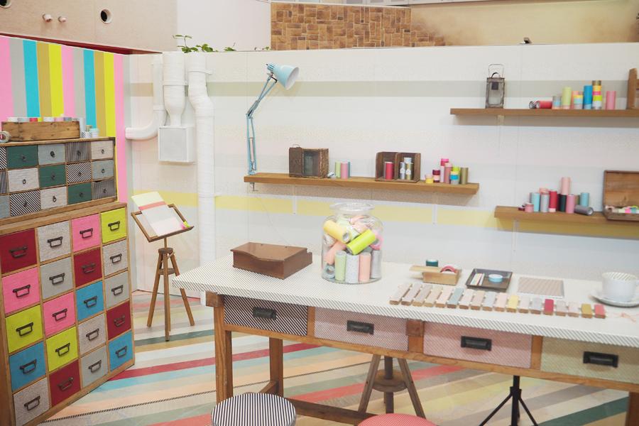 東京・早稲田にある10坪の小さなギャラリーで開催された『mt ex展』を再現