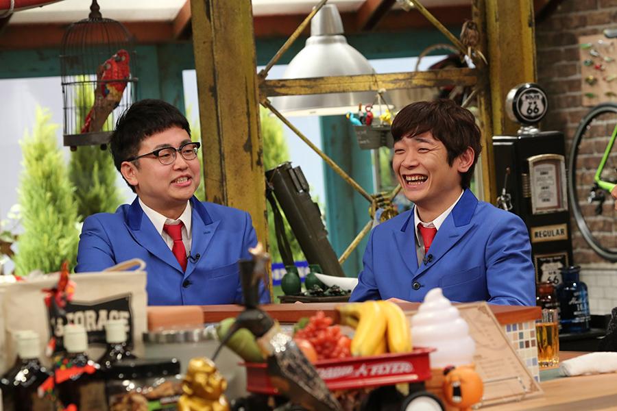 銀シャリのツッコミ担当・橋本直(左)とボケ担当の鰻和弘