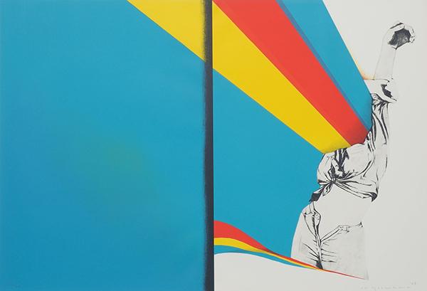 吉原英雄《彼女は空に》1968年/大阪府立江之子島文化芸術創造センター、1月18日より