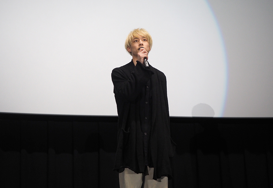 「劇中の音楽もぜひ楽しんで」と語った坂口健太郎(23日・大阪市内)