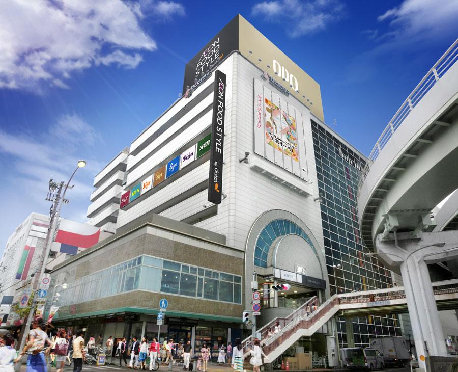 ダイエー傘下の「プランタン三宮」から引き継いだ「ダイエー神戸三宮店」。その2〜9階に2月24日「三宮オーパ2」がオープンする