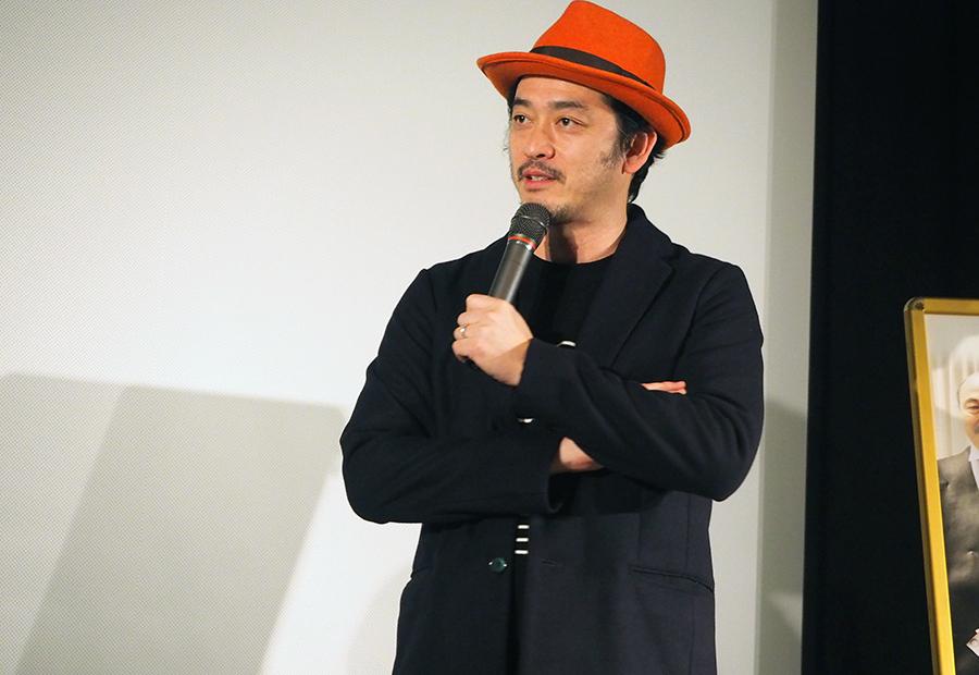 7年越しの映画公開にあたり、制作への思いを語った榊英雄監督(15日・大阪市内)