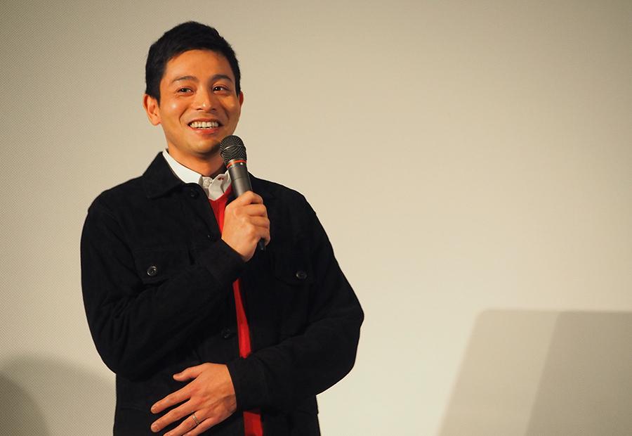 撮影に「いい緊張感と情熱をもって挑めた」と語った俳優・吉沢悠(15日・大阪市内)