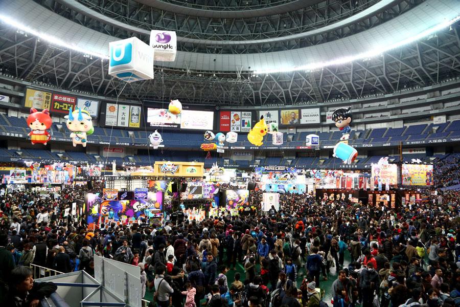 「日本最大級の子どものための展示会」をコンセプトに、全国4会場で開催。写真は昨年の様子