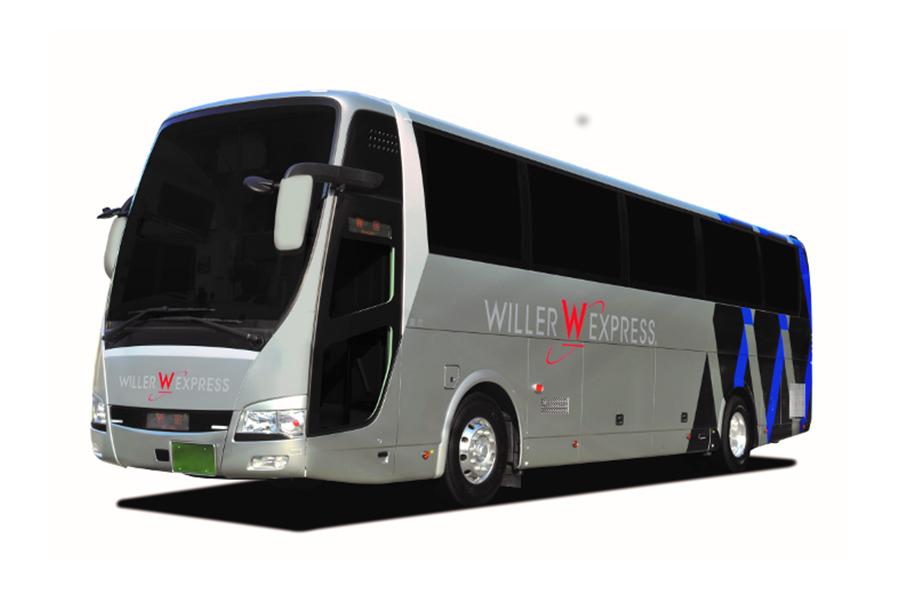 新シート「ReBorn」が搭載された高速バス「WILLER EXPRESS」