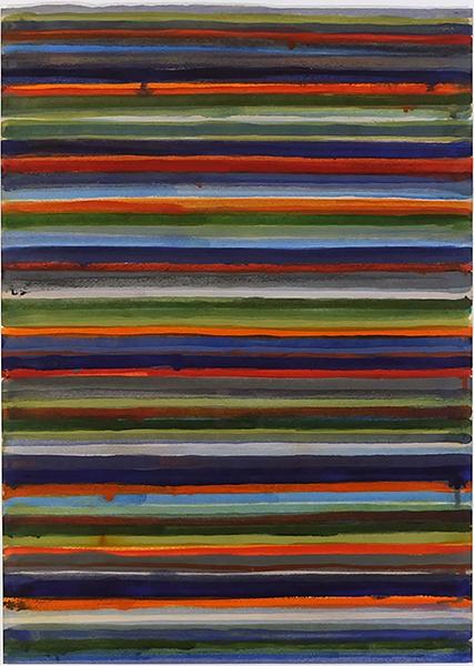 山田正亮《Work C.p89》 1961年 oil on paper 55×39cm/画廊コレクション@テヅカヤマギャラリー(大阪市西区)、1月20日より