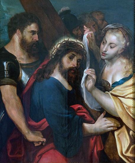 ペーテル・パウル・ルーベンス《十字架への道》 ヨハネ・パウロ2世美術館 ©Museum John Paul Collection