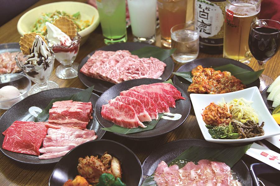 焼肉店「チファジャ上新庄店」の食べ飲み放題イメージ