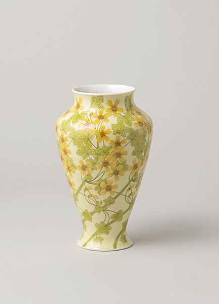 《上絵マーガレット文花瓶》 (有)セレスト蔵