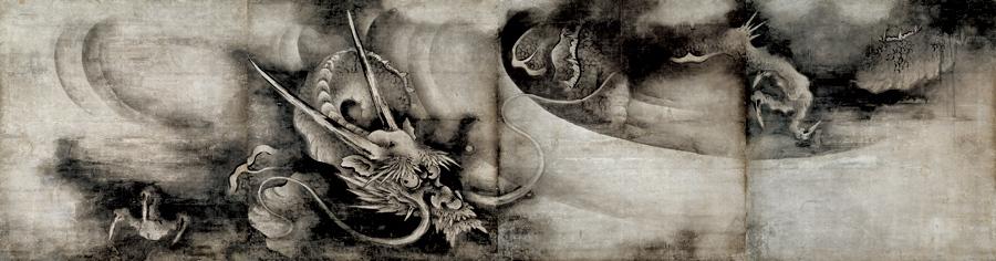 重要文化財 雲龍図 海北友松筆 建仁寺(京都) 慶長4年(1599) 通期展示