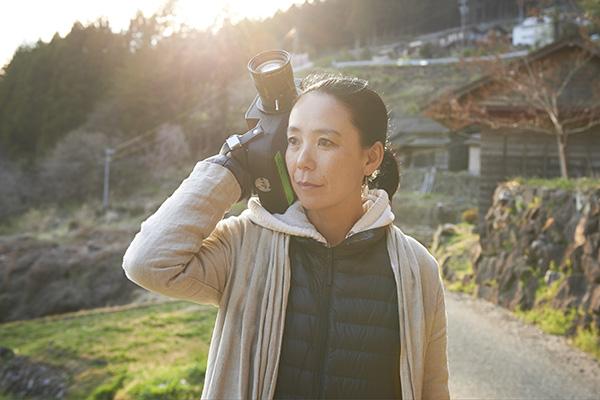 短編映画のメガホンをとった河瀬直美監督