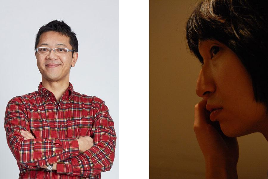 左から今回のゲスト、土田英生(MONO代表・劇作家・演出家)と糸井幸之介(FUKAIPRODUCE羽衣・劇作家・演出家・音楽家)