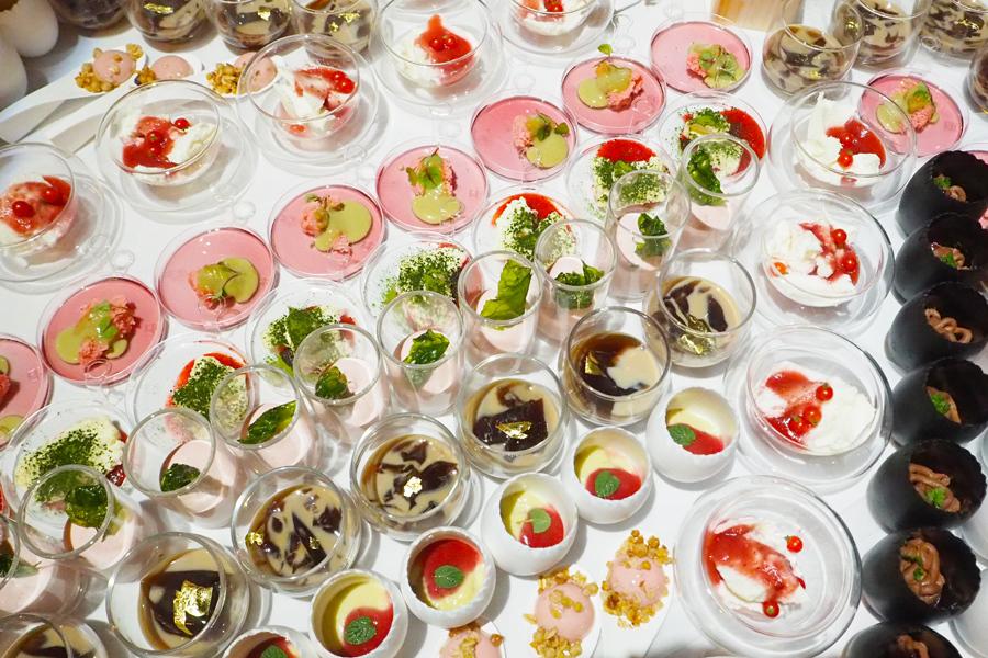 「普段は考えない『糖質』を意識するきっかけになれば」といちごのロカボメニューも8種用意