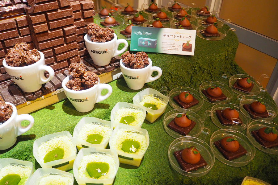 ミント香る「ネスレ アフターエイト」を使ったチョコレートムースは大人の味