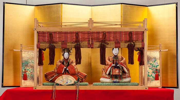 享保雛 加島屋伝来 大阪くらしの今昔館(大阪市立住まいのミュージアム)蔵