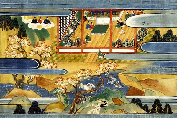 二月堂縁起絵巻 上巻(奈良・東大寺)