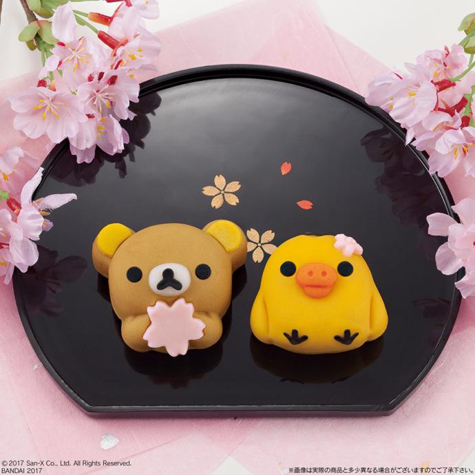 3月14日に発売される「食べマス リラックマ 桜リラックマ」