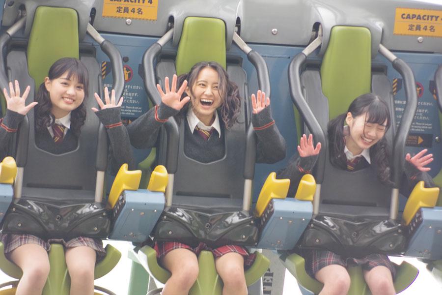 「(日達が)乗る前からずっと恐い恐いって手ばかり握ってくる」と頼られる岡田