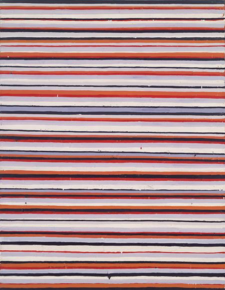 《Work C.92》1961-62年 油彩・キャンバス 横浜美術館蔵