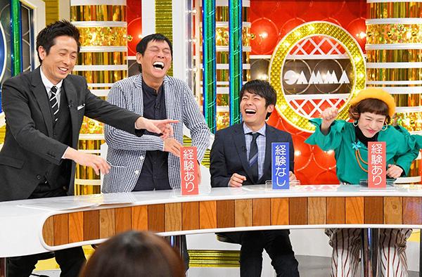 左からロザン宇治原、明石家さんま、ロザン菅、久本雅美