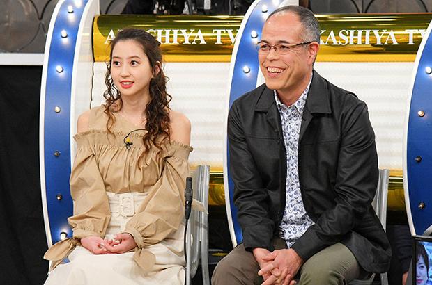 最後に衝撃発言をする河北麻友子(左・毎日放送『痛快!明石家電視台』)