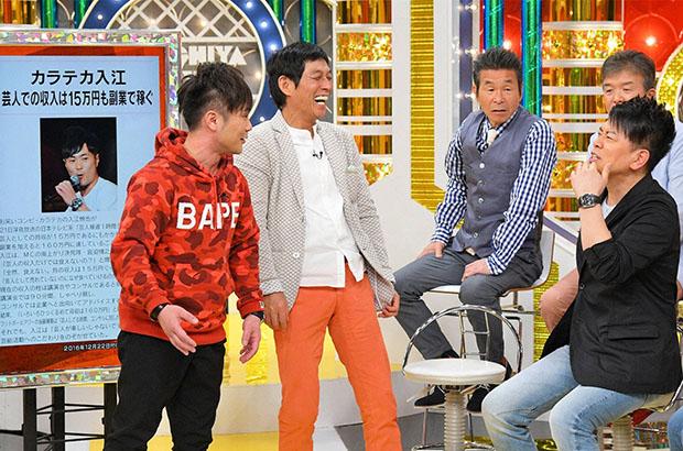 カラテカ・入江(左)の芸人収入の16倍の副業収入とは何か?