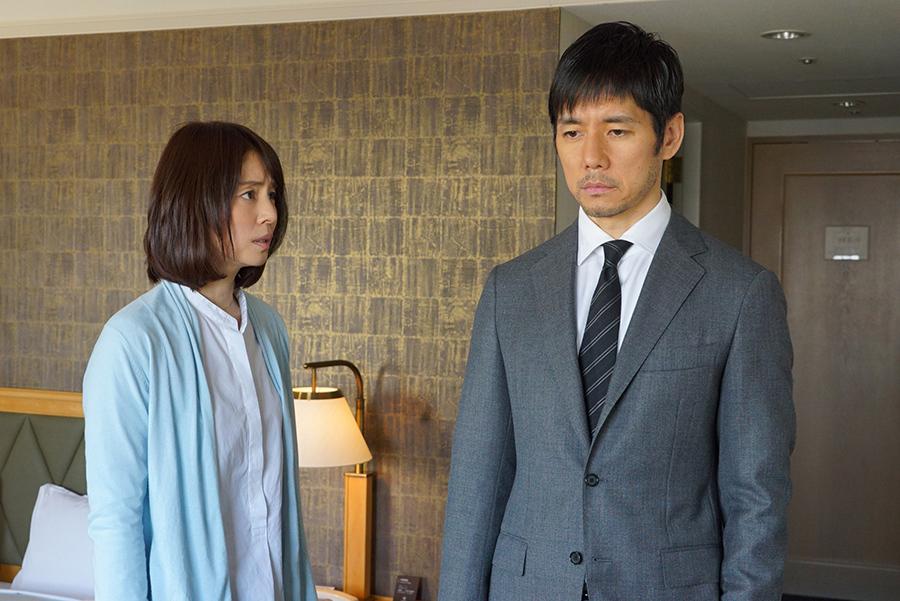 3度目の共演となる石田ゆり子(左)と西島秀俊(『CRISIS 公安機動捜査隊特捜班』より)