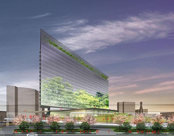 2022年開業予定の「星野リゾート」のホテル、外観イメージ