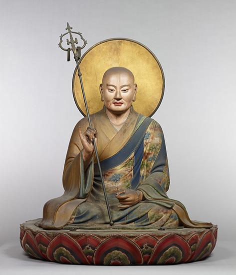 国宝 僧形八幡神坐像 鎌倉時代 建仁元年(1201) 快慶作 奈良・東大寺