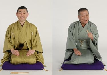左から桂南光さん(4月20日出演)、桂ざこばさん(4月17日出演)