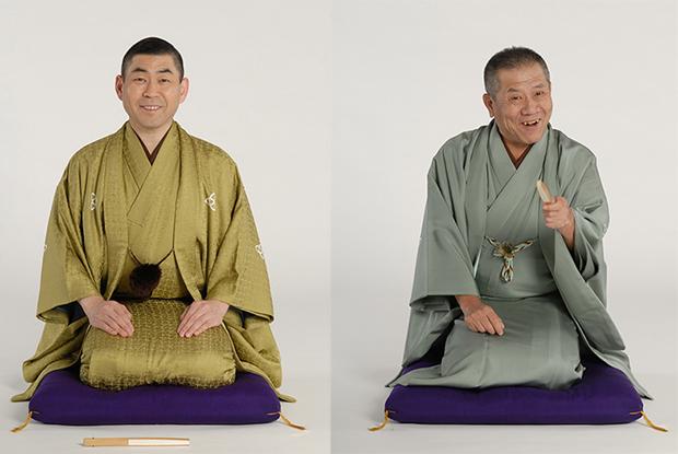左から桂南光(4月20日出演)、桂ざこば(4月17日出演)