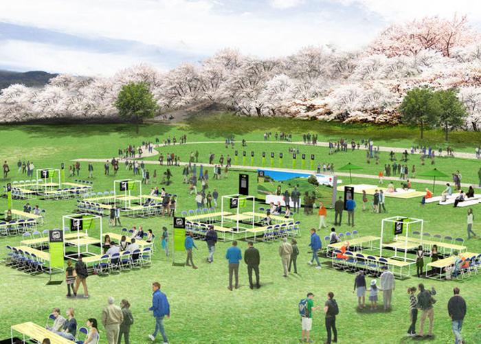 『お茶の京都博』のオープニングイベントとして開催される『さくら茶会』(イメージ)