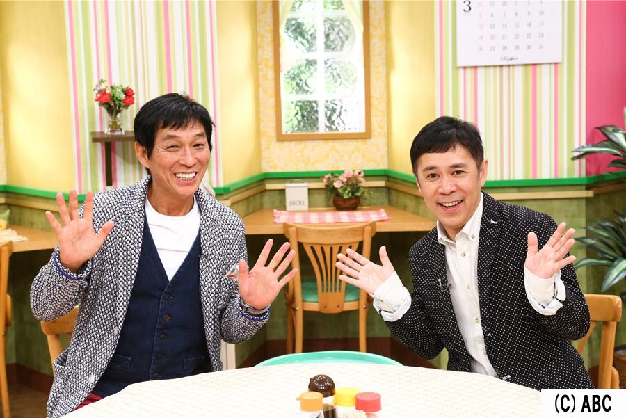 (左から)明石家さんま、岡村隆史