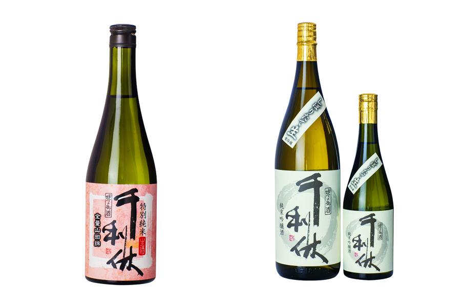 地元・堺の酒「千利休」