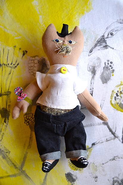 人形作家イリイリさんのワークショップは、4月1日・2日に開催