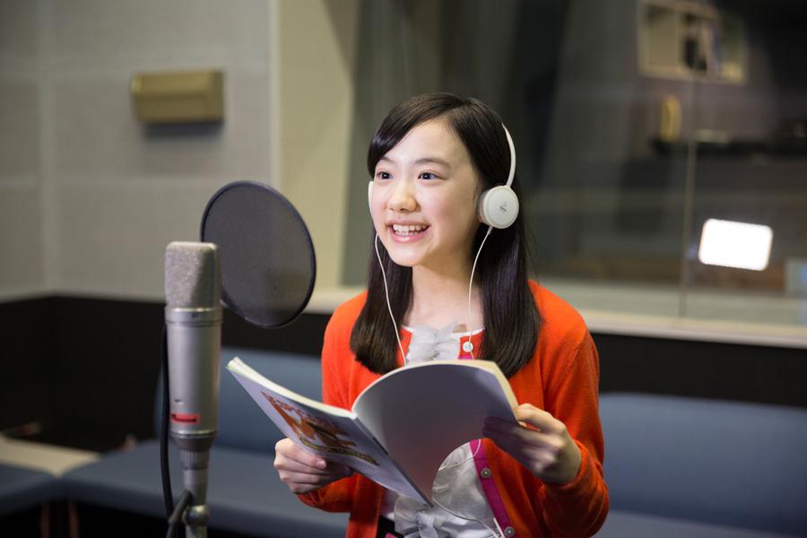 「ユニバーサル・スタジオ・ジャパン」に4月21日登場するアトラクション『ミニオン・ハチャメチャ・ライド』で映画に続きグルーの娘・アグネスの声を担当する芦田愛菜