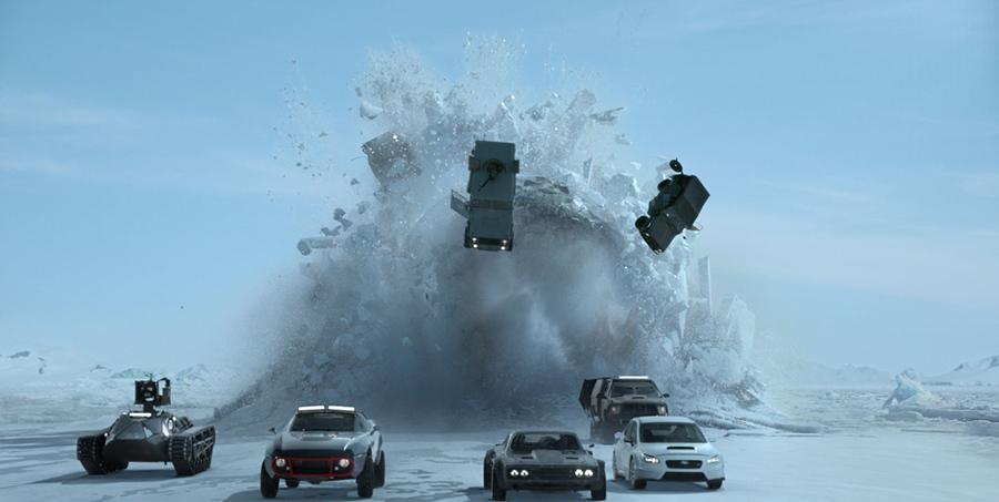 シリーズ最新作『ワイルド・スピード/アイスブレイク』の一場面 © Universal Pictures