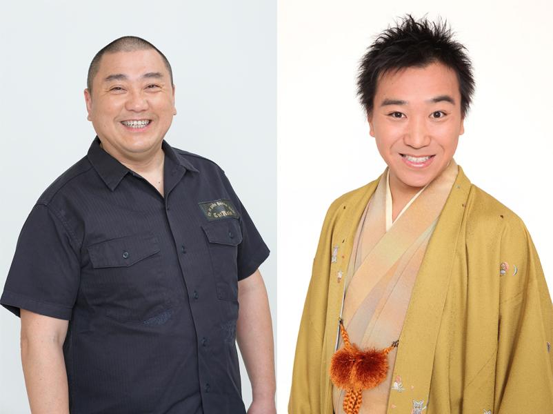 (左から)極楽とんぼ・山本圭壱、月亭八光