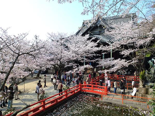 西国三十三所の紀三井寺(和歌山県和歌山市)