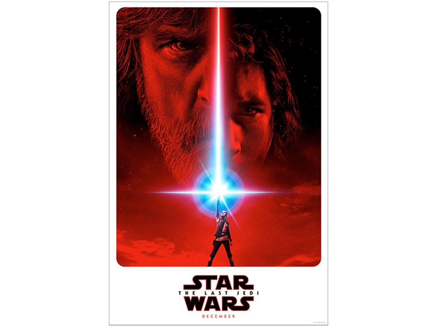 映画『スター・ウォーズ/最後のジェダイ』ポスター © 2017 Lucasfilm Ltd. All Rights Reserved.