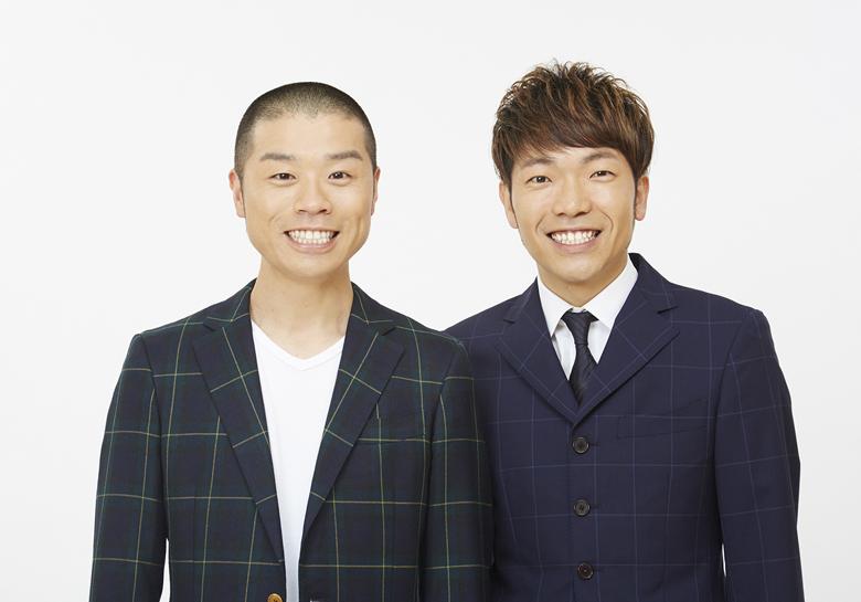 初MC番組となるアキナ・山名文和(左)と秋山賢太
